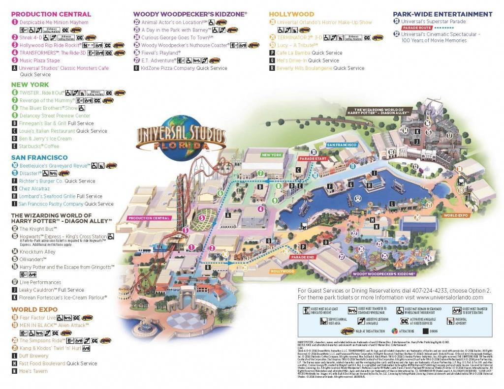 Universal Map   Universal ❤   Universal Studios Orlando Map - Universal Studios Florida Park Map