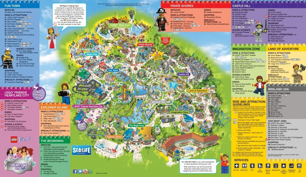 Universal Studios California Park Map Inspirational Legoland With - Legoland Map California Pdf