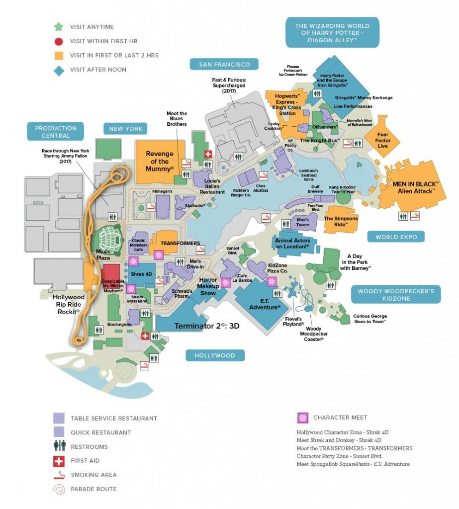 Universal Studios Florida™ General Map | Universal Studios In 2019 - Printable Map Of Universal Studios Orlando