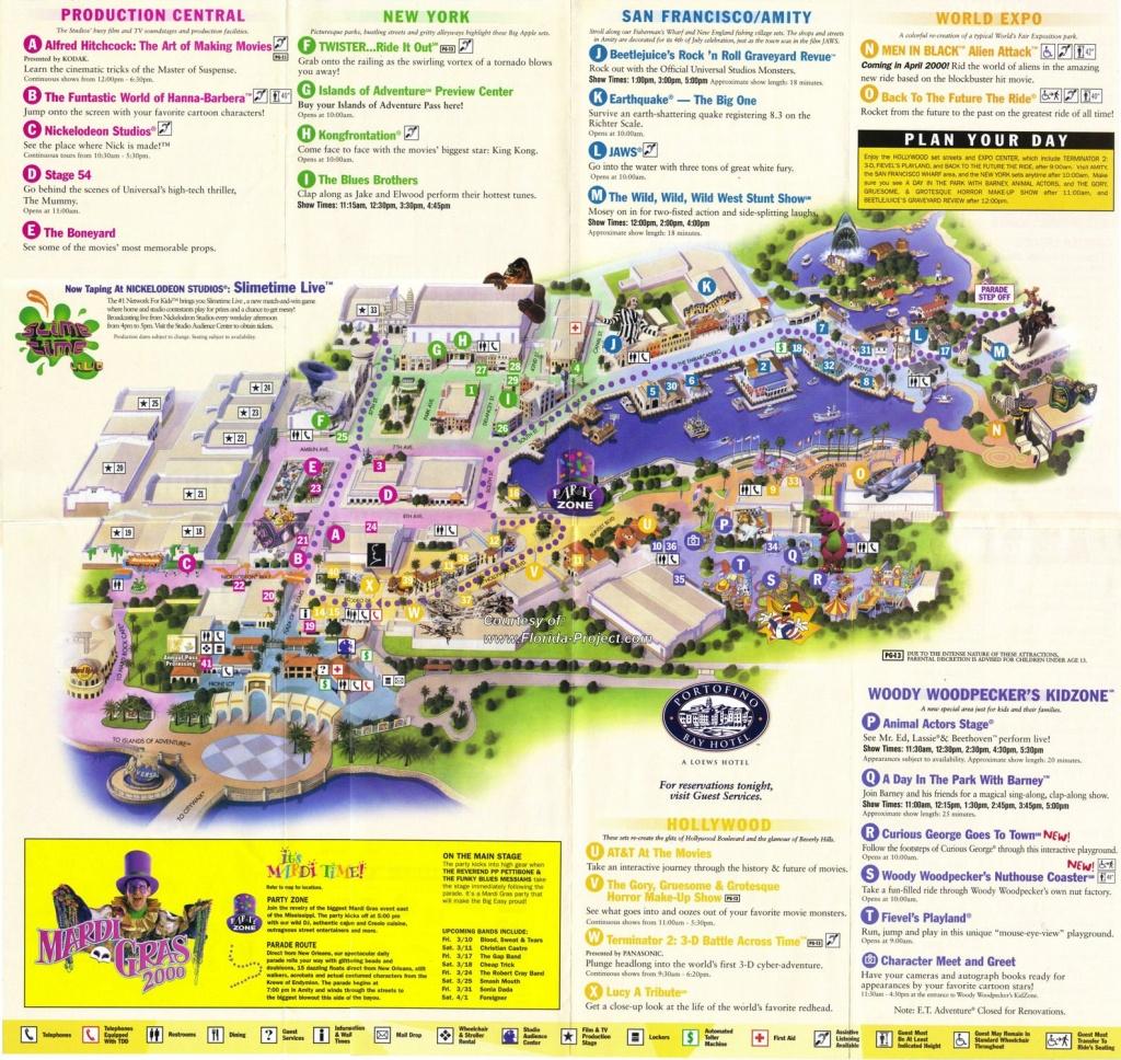Universal Studios Florida Guidemaps - 2000 - 1991 - Page 3 - Universal Studios Florida Map