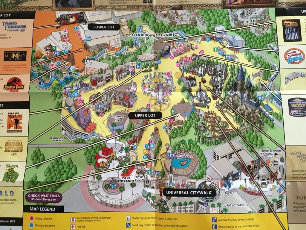 Universal Studios Hollywood | Favorite Places!! | Universal Studios - Universal Studios California Map