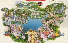 Universal Florida Park Map