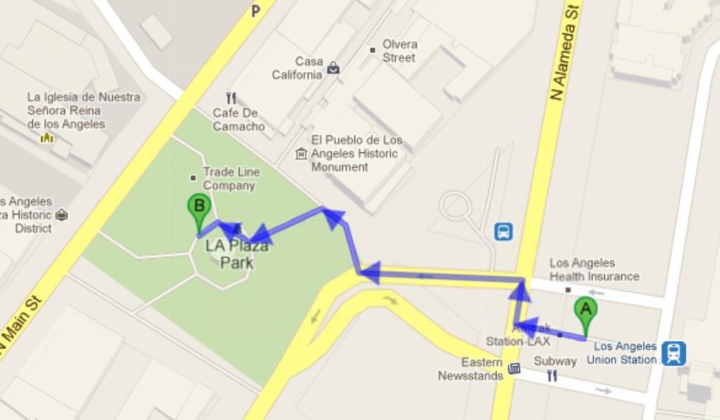 Unknown Road To Unknown Road – Google Maps   The Metroduo Blog - La California Google Maps