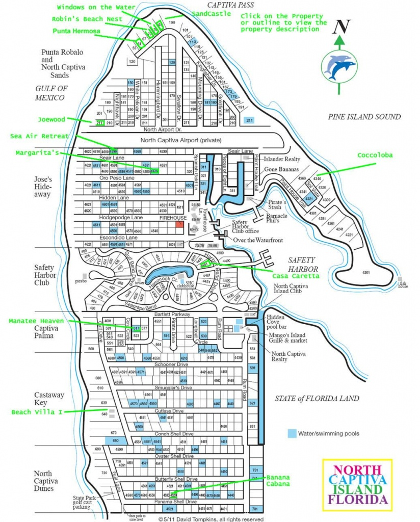 Upper Captiva Island Map. Best Map . | Sanibel And Captiva Islands - North Captiva Island Florida Map