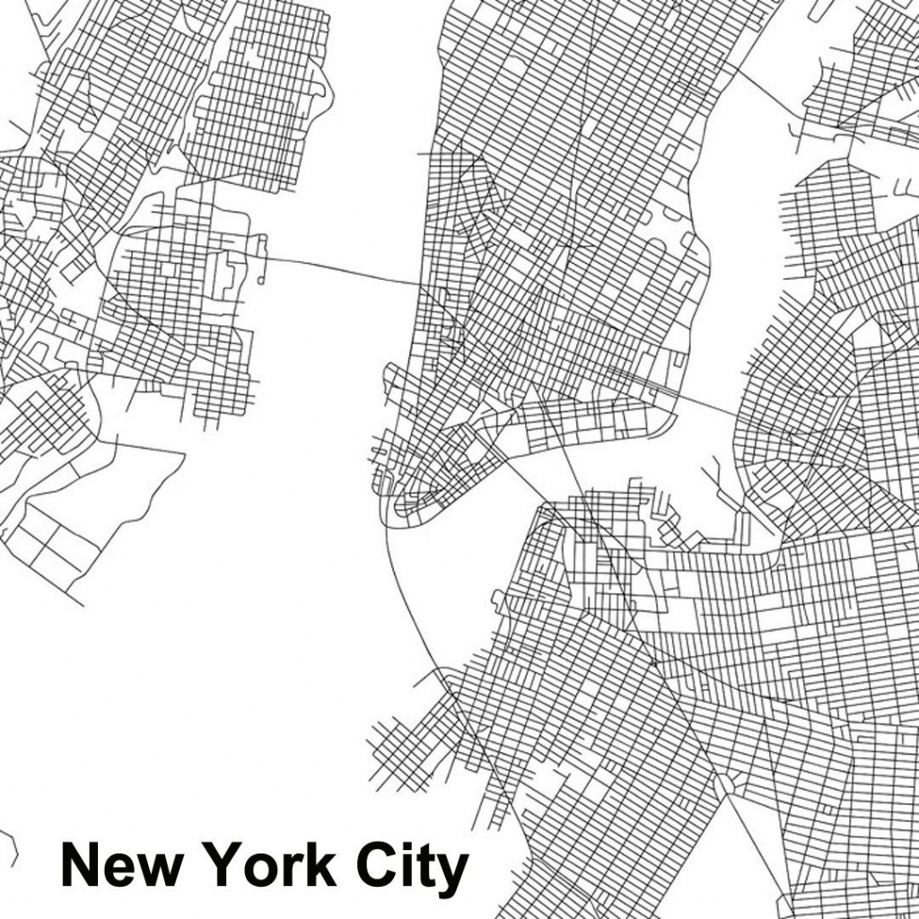 Urban Morphology: These Maps Of Central New York City, London - Florida Street Buenos Aires Map