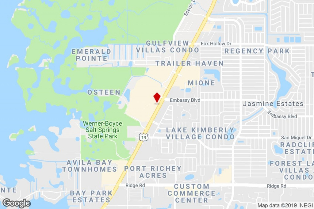 Us Highway 19 & Embassy Blvd, Port Richey, Fl, 34668 - Commercial - Google Maps Port Richey Florida