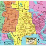Us Map According To Timezone New Printable United States Map With – Printable Map Of Us Time Zones With State Names