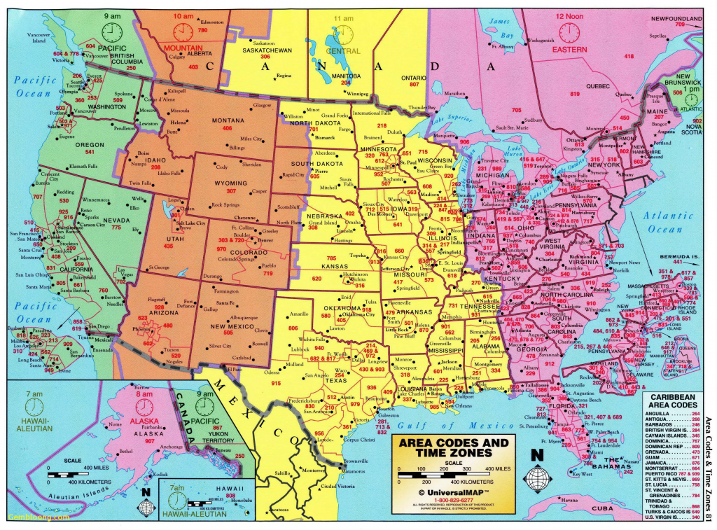 Us Map According To Timezone New Printable United States Map With - Printable Map Of Us Time Zones With State Names