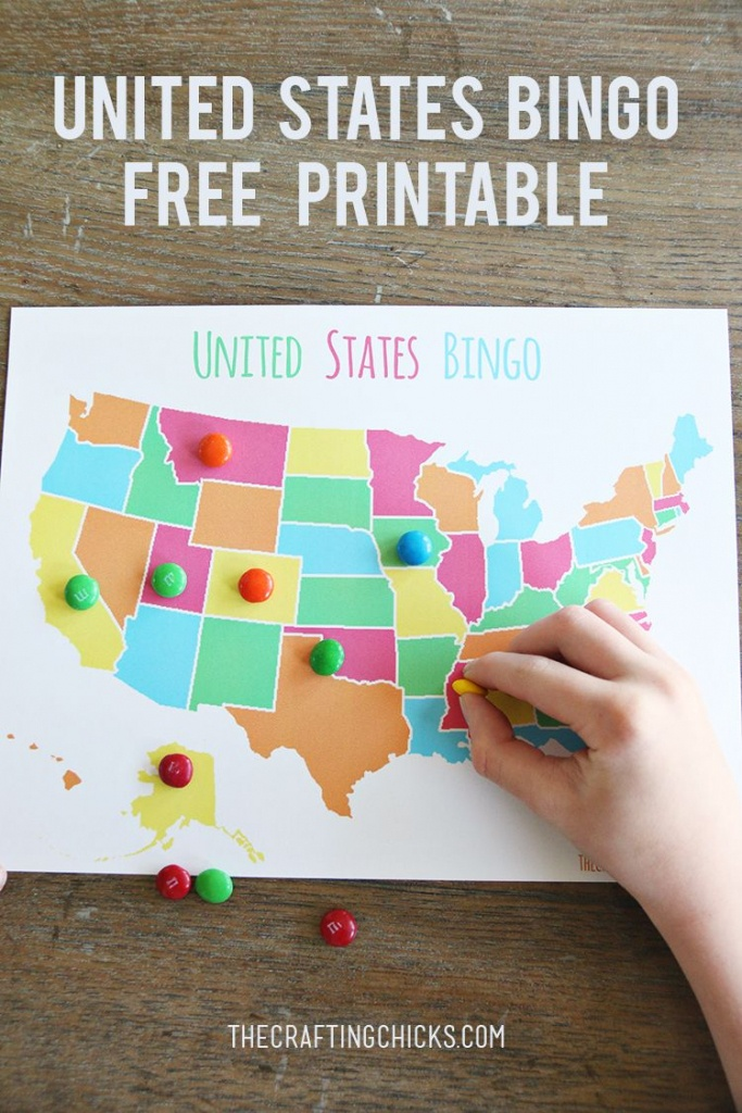 Us Map Game {Free Printable Us State Map} | Summer Fun | U.s. States - Free Printable Us Map For Kids