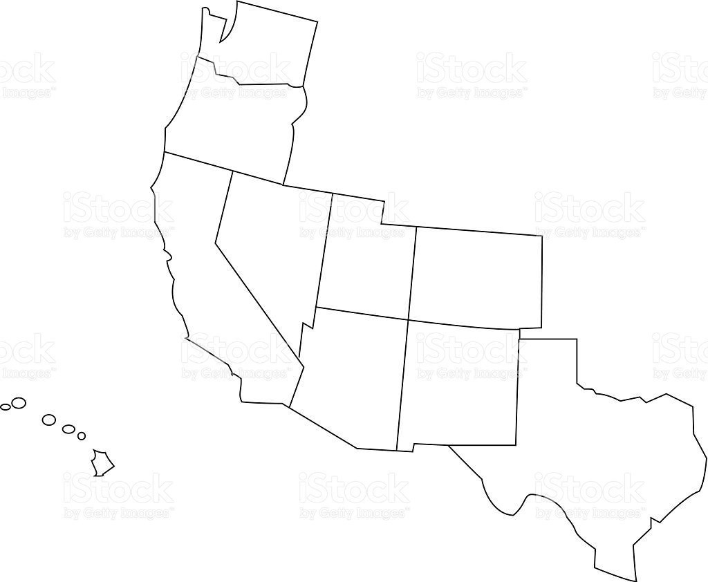 Us Map Of Southwestern Border Southwest Usa Valid Maps Products - Southwest Region Map Printable
