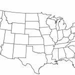 Us Map Quiz Printout Best Free Printable Blank Us Map Blank Us Map   Us Map Quiz Printable Free