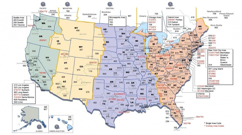Us Time Zone Map And Area Codes | Ass | Time Zone Map, Time Zone - Printable Us Time Zone Map With Cities