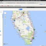 Usa East Coast 2014 (656/657)   Google Maps Melbourne Florida