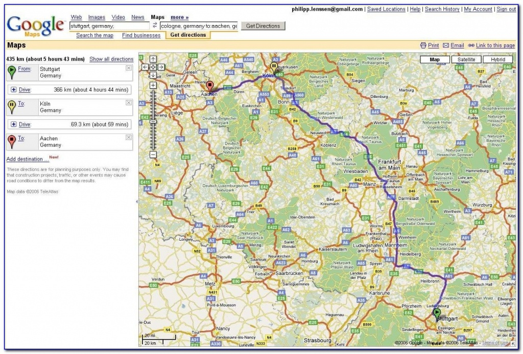 Usa Map Driving Directions Google Maps Driving Directions Free - Free Printable Maps Driving Directions