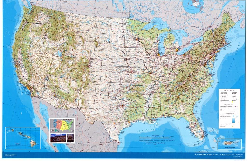 Usa Maps | Printable Maps Of Usa For Download - Large Printable Maps