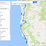 Usa West Coast Road Trip Itinerary: Seattle To San Francisco   Just   Seattle To California Road Trip Map