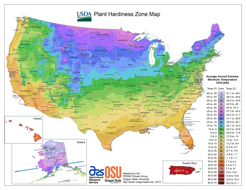 Usda Hardiness Zone Finder - Garden - Texas Planting Zones Map