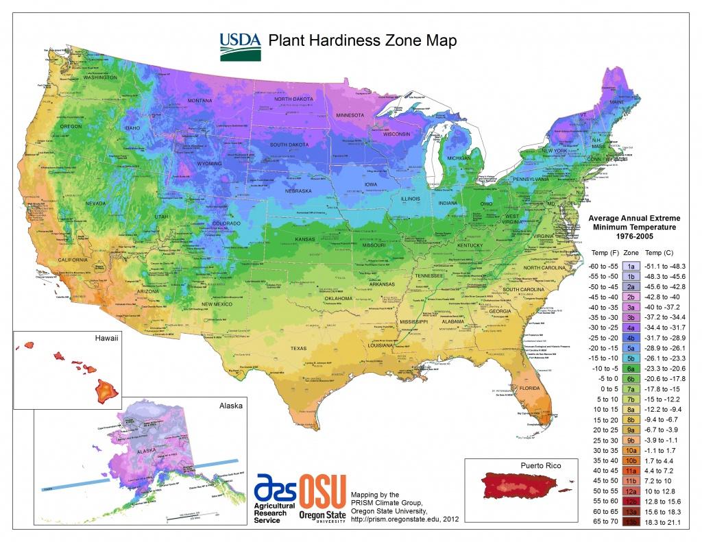 Usda Hardiness Zone Finder - Garden - Usda Map California