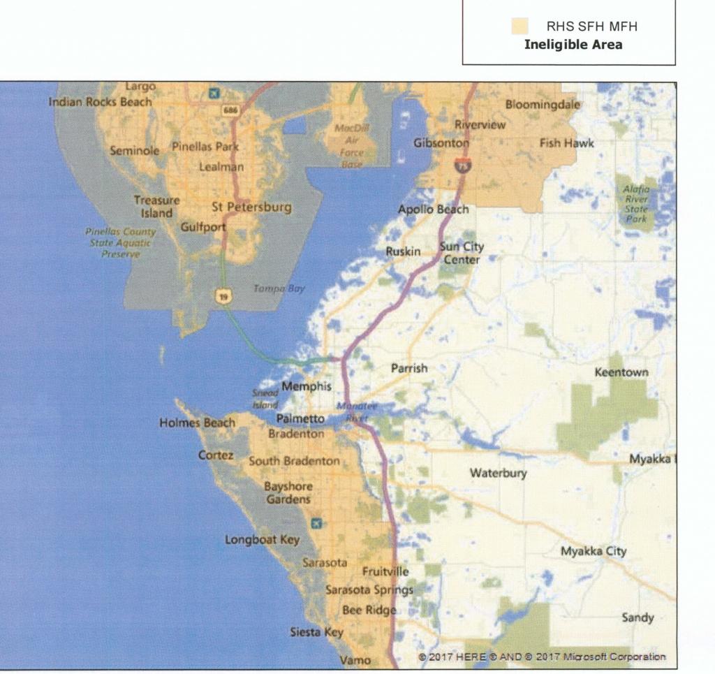 Usda Loan   Multiline Mortgage   (941) 201-9111   Multiline Mortgage - Usda Loan Eligibility Map Florida