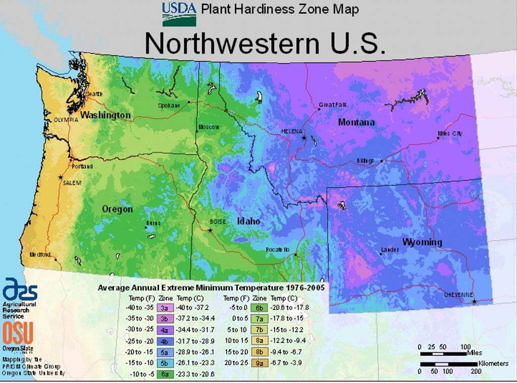 Usda Plant Hardiness Zone Mapsregion - Usda Zone Map Texas
