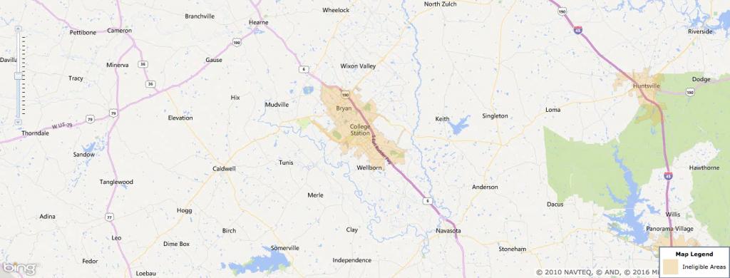 Usda Rural Development Loan - College Station, Tx - Usa Home Financing - Usda Rural Development Map Texas
