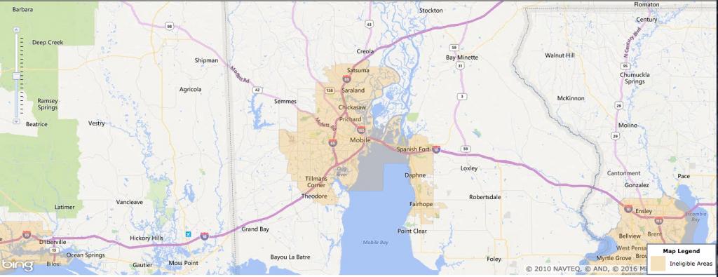 Usda Rural Development Loan - Mobile, Al - Usa Home Financing - Usda Rural Development Map Florida