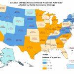 Usda Rural Development Notifies Rural Rental Housing Borrowers   Usda Rural Development Map Florida