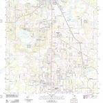 Usgs Topo Map Florida Fl Dade City 20120720 Tm Restoration Stock   Map Of Florida Showing Dade City