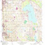Usgs Topo Map Florida Fl Dundee 345890 1953 24000 Restoration Stock   Dundee Florida Map