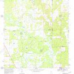 Usgs Topo Map Florida Fl Newberry Sw 347642 1968 24000 Restoration   Newberry Florida Map