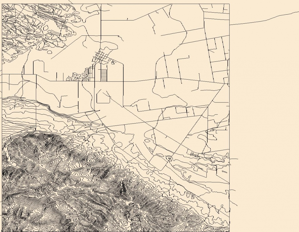 Usgs Topo Map Vector Data (Vector) 18687 Guadalupe, California - Guadalupe California Map