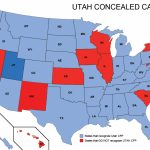 Utah Concealed Weapons Permit Reciprocity Map | Misc | Concealed   Florida Reciprocity Concealed Carry Map