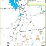 Utah State Maps   Usa   Maps Of Utah (Ut)   Printable Map Of Utah