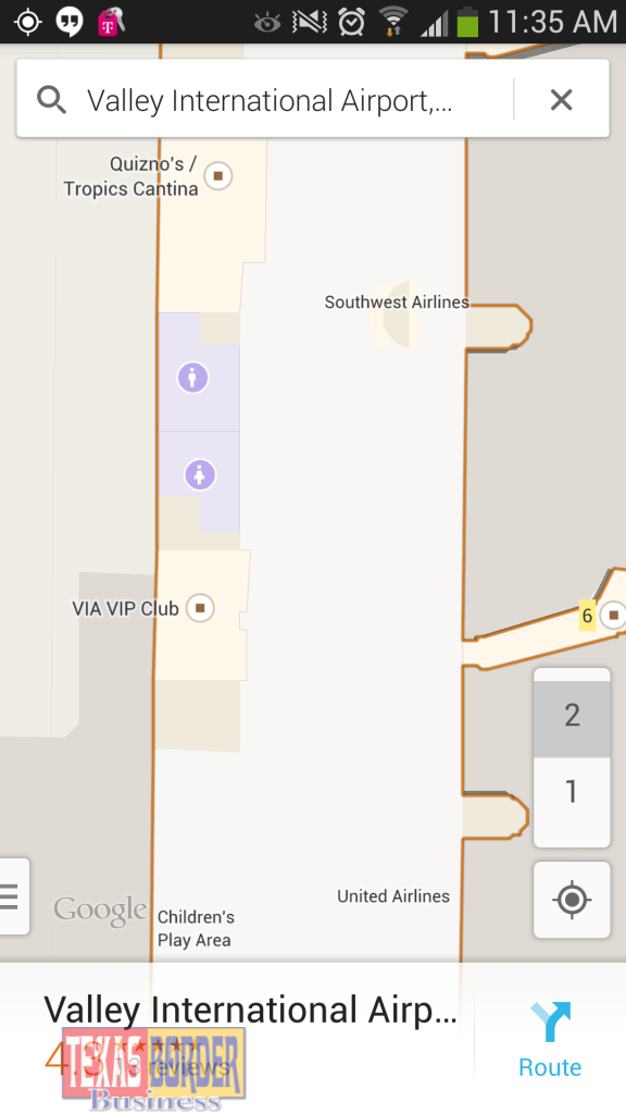 Valley International Airport Adopts Innovative Indoor Google Maps - Google Maps Harlingen Texas