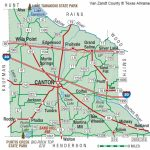 Van Zandt County | The Handbook Of Texas Online| Texas State   Van Zandt County Texas Map