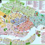 Venice Attractions Map Pdf   Free Printable Tourist Map Venice   Venice Printable Tourist Map