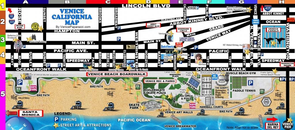 Venice-Map | La In 2019 | Venice California, Venice Beach Florida - Venice Beach California Map