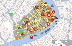Venice Maps – Top Tourist Attractions – Free, Printable City Street Map – Venice Printable Tourist Map