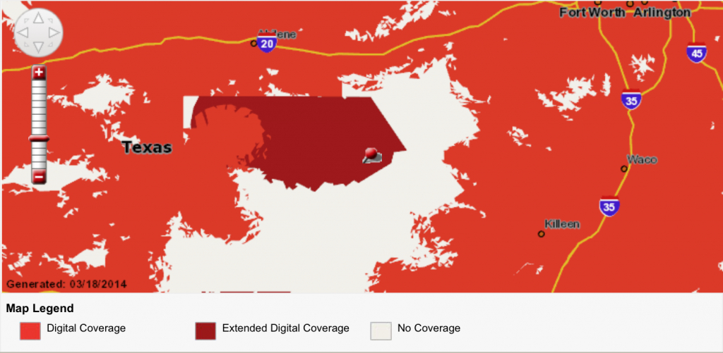 Verizon Coverage Map Texas   Business Ideas 2013 - Verizon Map Coverage Texas