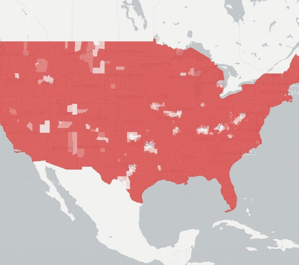 Verizon Wireless | Internet Service Provider | Broadbandnow - Verizon Coverage Map Florida