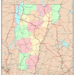 Vermont Political Map   Printable Map Of Vermont