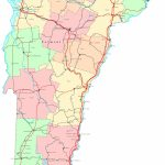 Vermont Printable Map   Printable Map Of Vermont