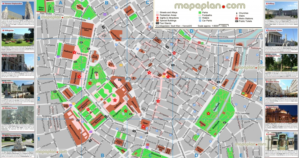 Vienna Maps - Top Tourist Attractions - Free, Printable City Street - Vienna Tourist Map Printable