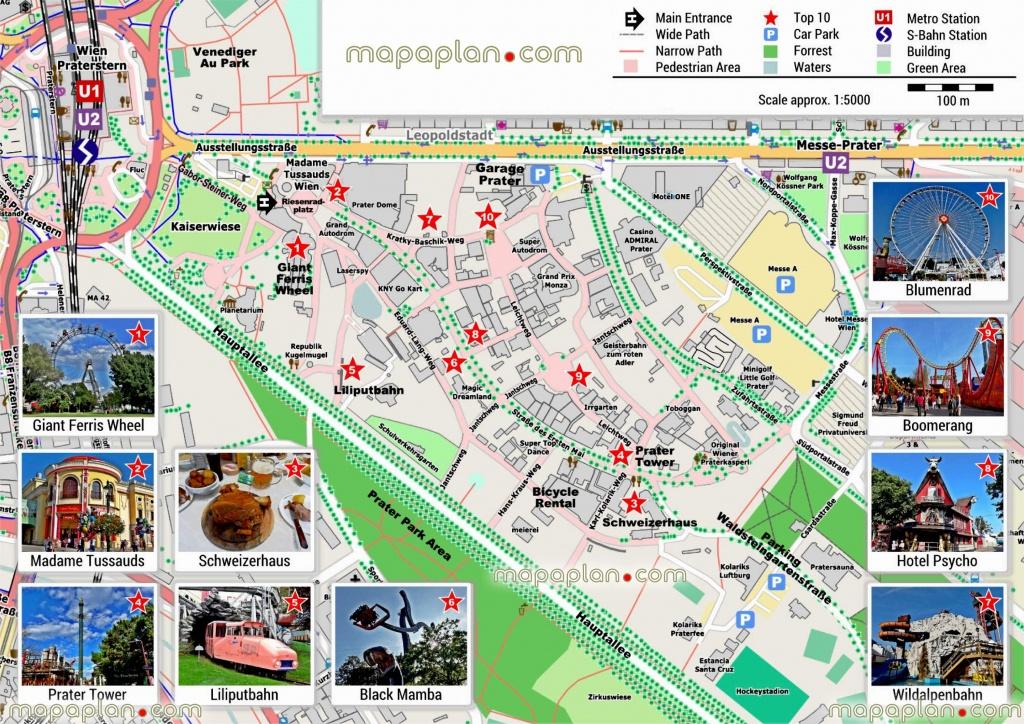 Vienna Maps Top Tourist Attractions Free Printable City – Vienna - Oxford Tourist Map Printable
