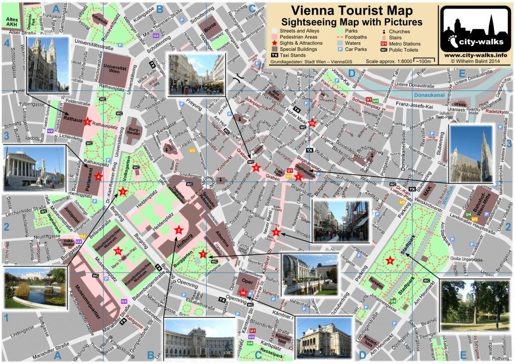 Vienna Tourist Attractions Map - Vienna Tourist Map Printable