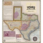 Vinmaps Texas Wine Country Map, Appellations & Wineries Review   Texas Wine Country Map