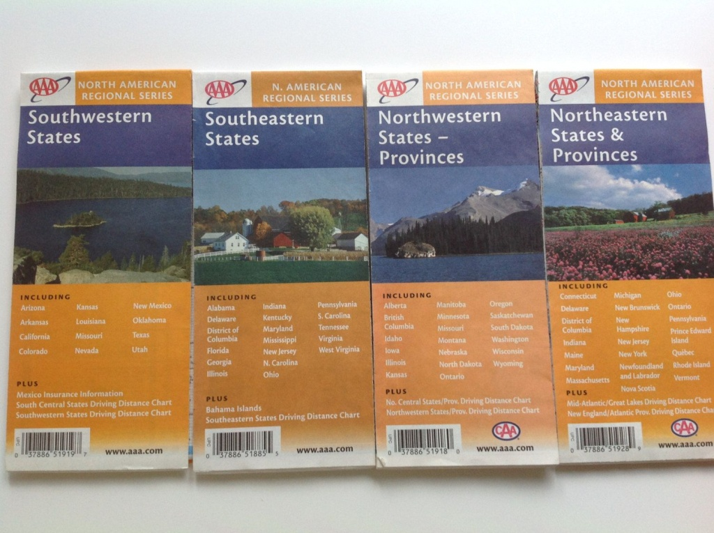 Vintage Collection Aaa North American Regional Map Series - Aaa Maps Florida