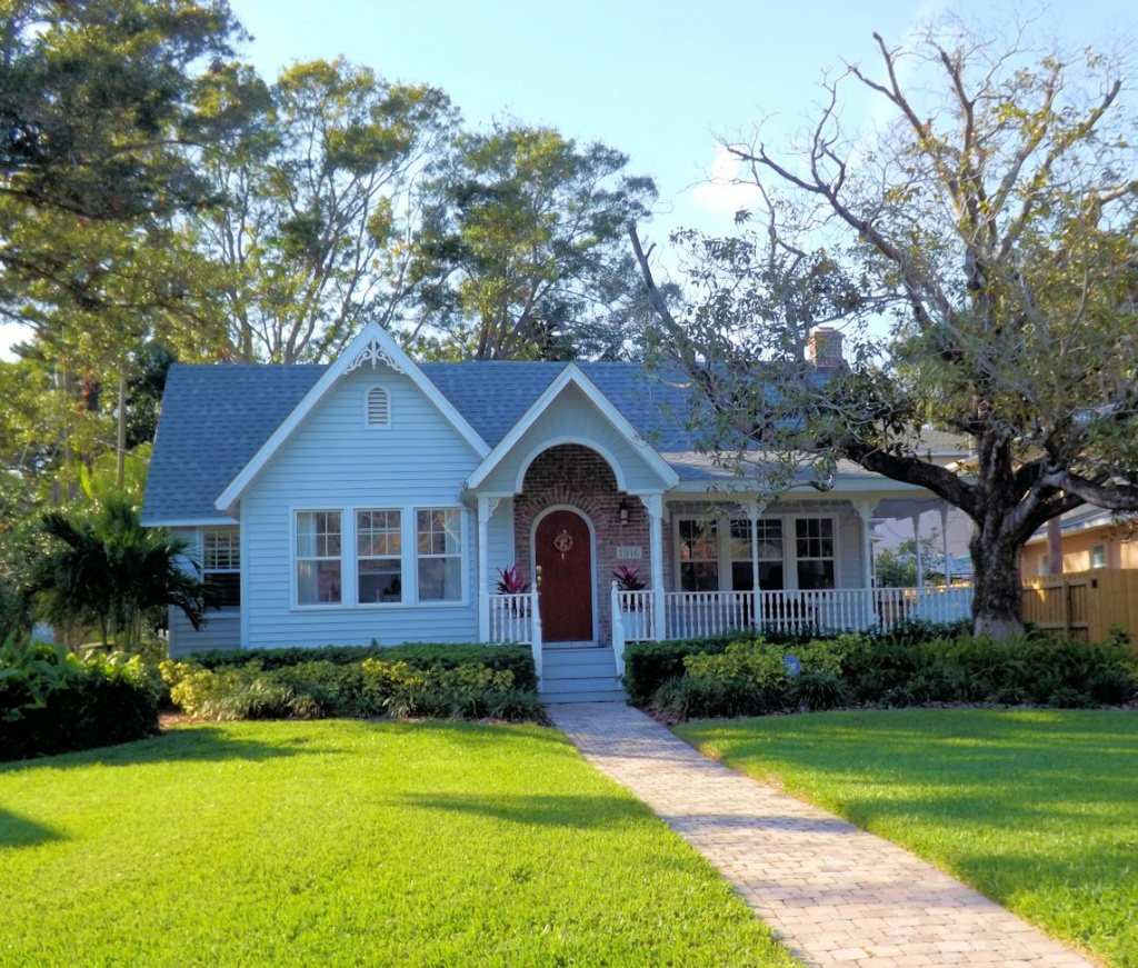 Vintage Homes For Sale In St Petersburg, Fl $750,000 To $1,000,000 - Map Of Homes For Sale In Florida