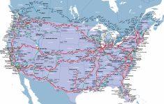 California Zephyr Map