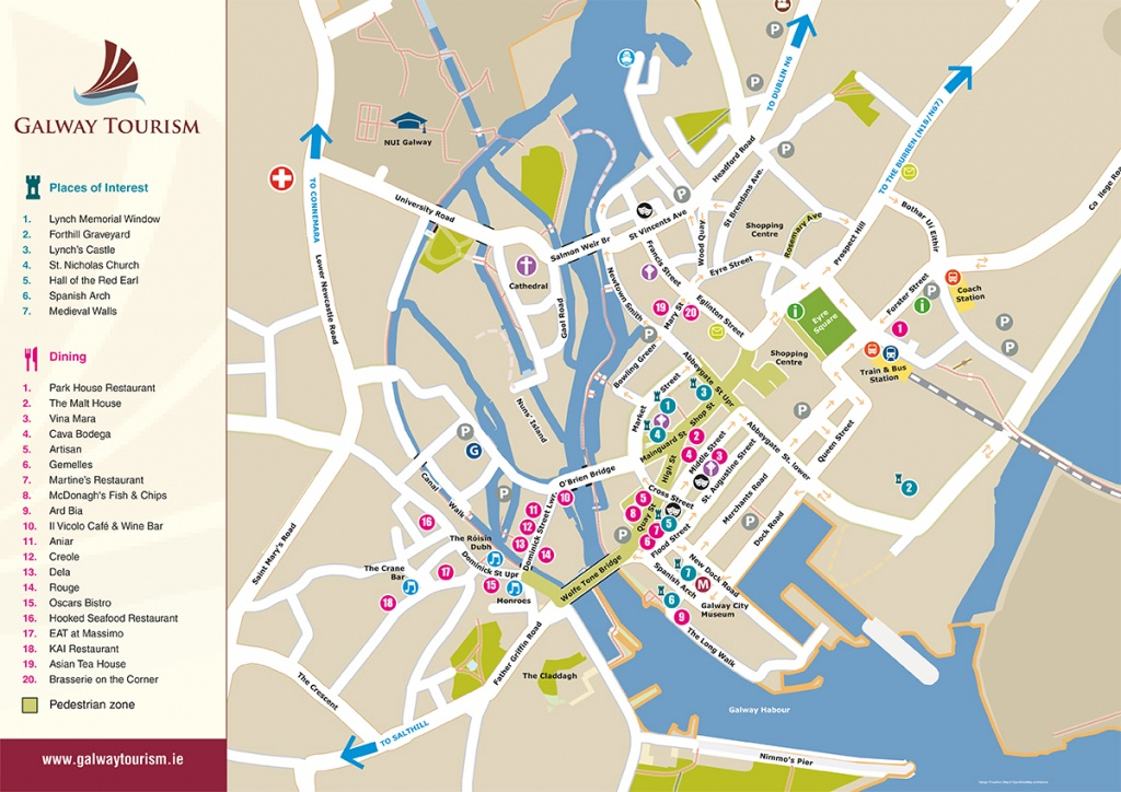Visit Galway 2018 | Festivals | Galway Bay Hotel - Galway City Map Printable